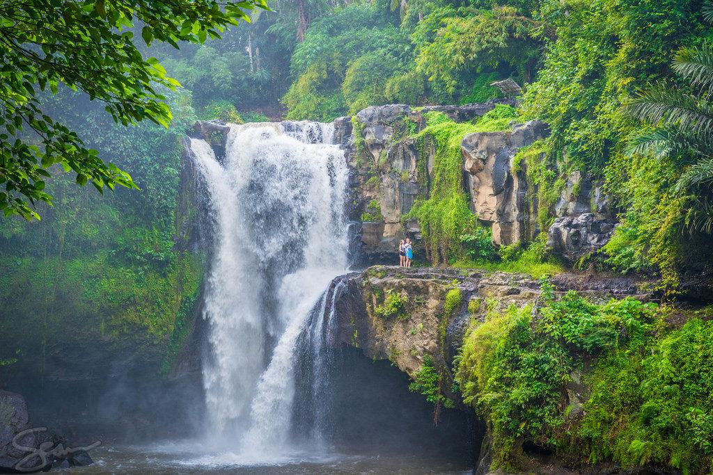 Bali, waterfall